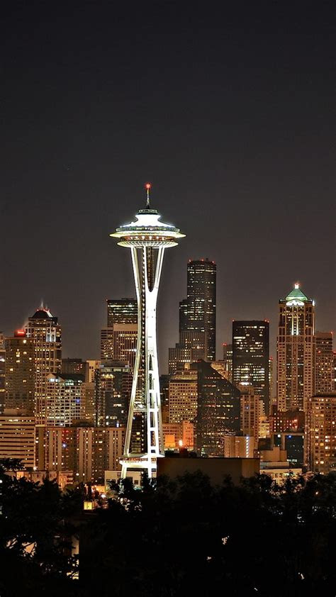 spectacular seattle iphone   wallpapers hd