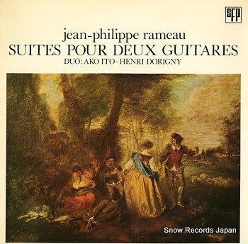ITO, AKO & HENRI DORIGNY jean-philippe rameau / suites pour deux guitares