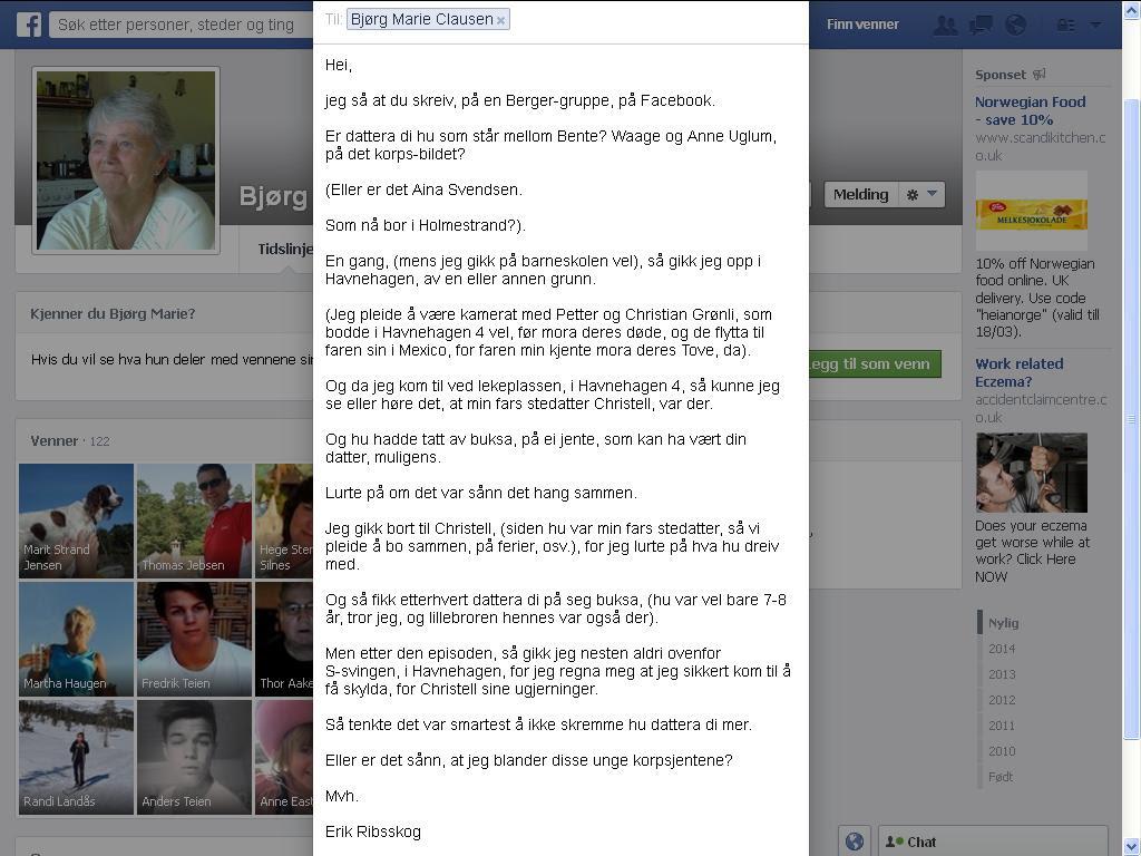 clausen facebook