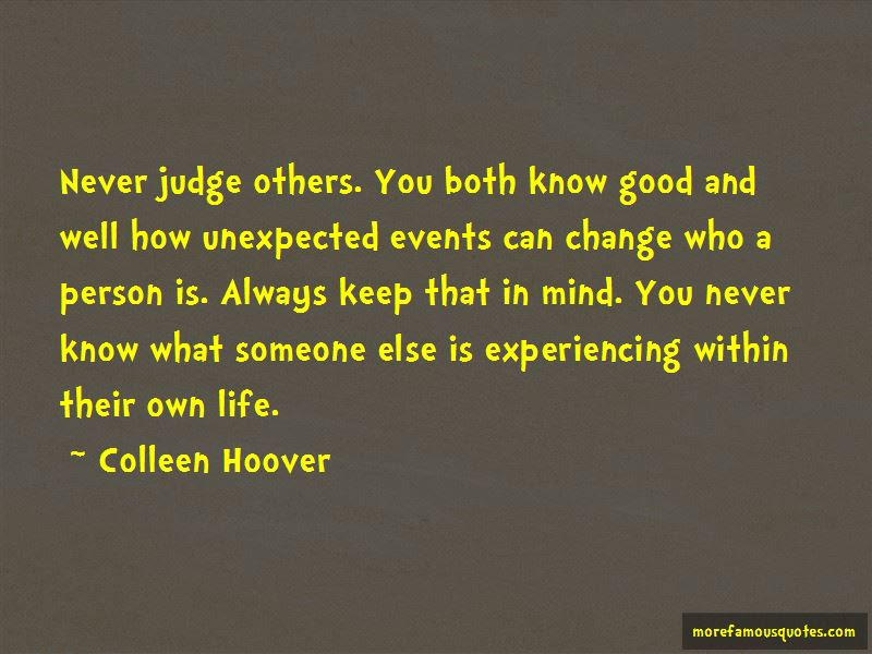 Never Judge Others Quotes Top 30 Quotes About Never Judge Others