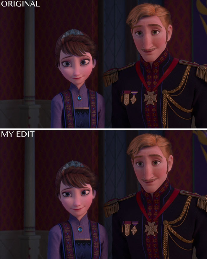 "King Agnarr And Queen Iduna In ""Frozen"""