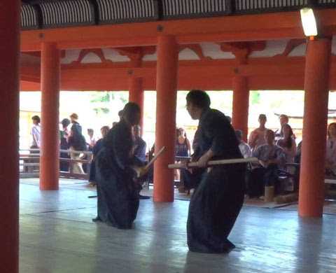 The 7th Itsukushima Shrine martial arts demonstration event was held
