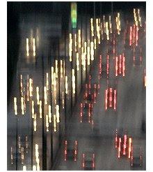 Trânsito à noite