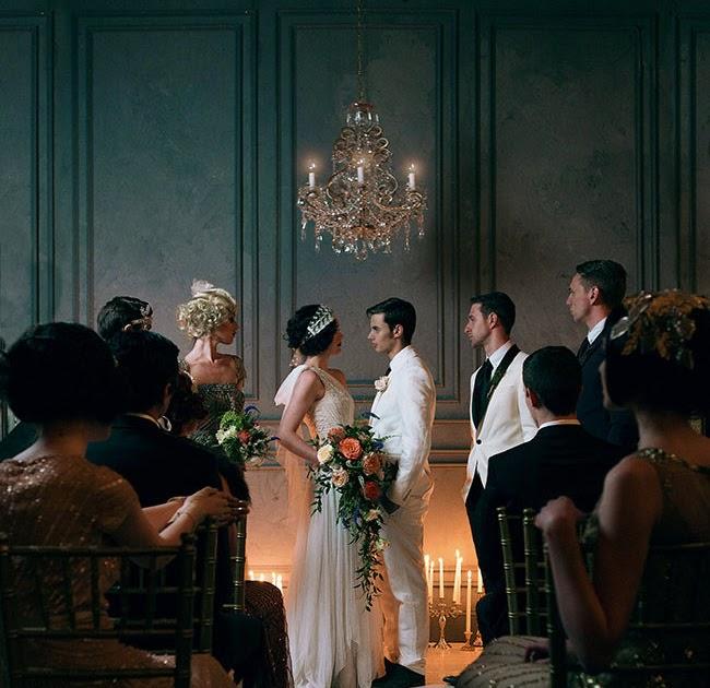 Il Tempo Ritrovato Il Grande Gatsby Un Meraviglioso: The Proposal: Great Gatsby Wedding