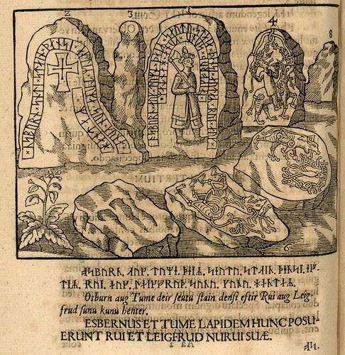 Danicorum monumentorum - Ole Worm - 1643 - The Hunnestad Monument - 0211