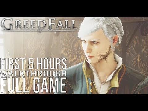 Greedfall Full Game Playthrough | Longplay
