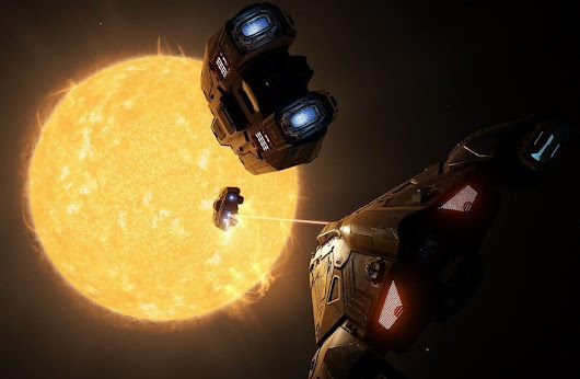 Elite: Dangerous shows off impressive dev build of planet landings - ISK Mogul Adventures