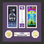 LSU Tigers 2019 Football National Champions Ticket Collection