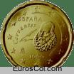 Moneda de 20 centimos de España (1a edicion)