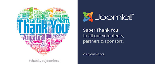 Thank you, Joomla! Community!
