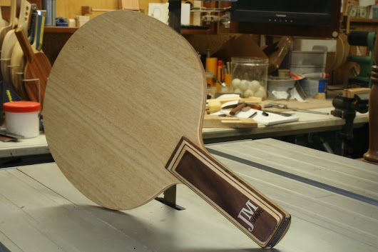 Jean-Michel Saive's blade - All wood table tennis blades