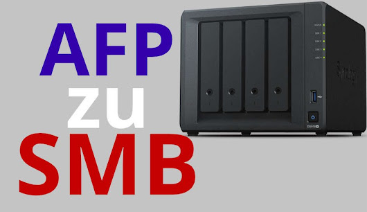 macOS AFP auf SMB zu DiskStation umstellen + SMB Time Machine Backup - iDomiX