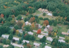 Massachusetts Fall Aerial