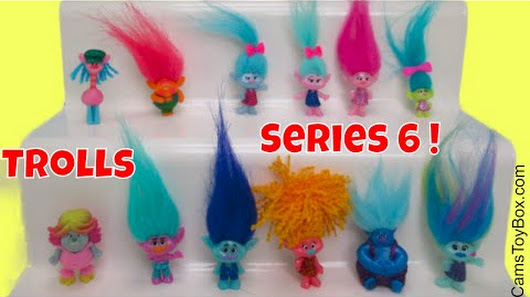 Dreamworks Trolls Series 6 Complete Blind Bags Toy Review Names Opening Surprises Fun Kids