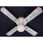 Ceiling Fan Designers 42FAN-DIS-PPE Disney Princesses- Castle Ceiling Fan 42 in.