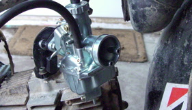 Mikuni Carb Fitted