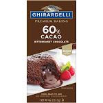 Ghirardelli 60% Cacao Bittersweet Chocolate Baking Bar - 4oz
