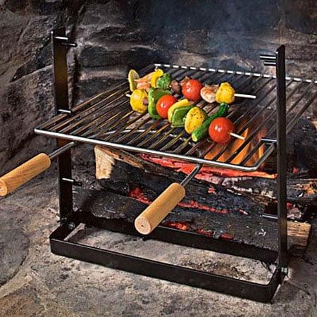 garden state natalie portman fireplace grilling