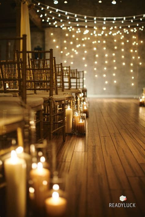 25 Romantic Winter Wedding Aisle Décor Ideas   Deer Pearl