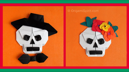 Read Also Blog Post English How To Make An Origami Skull Http