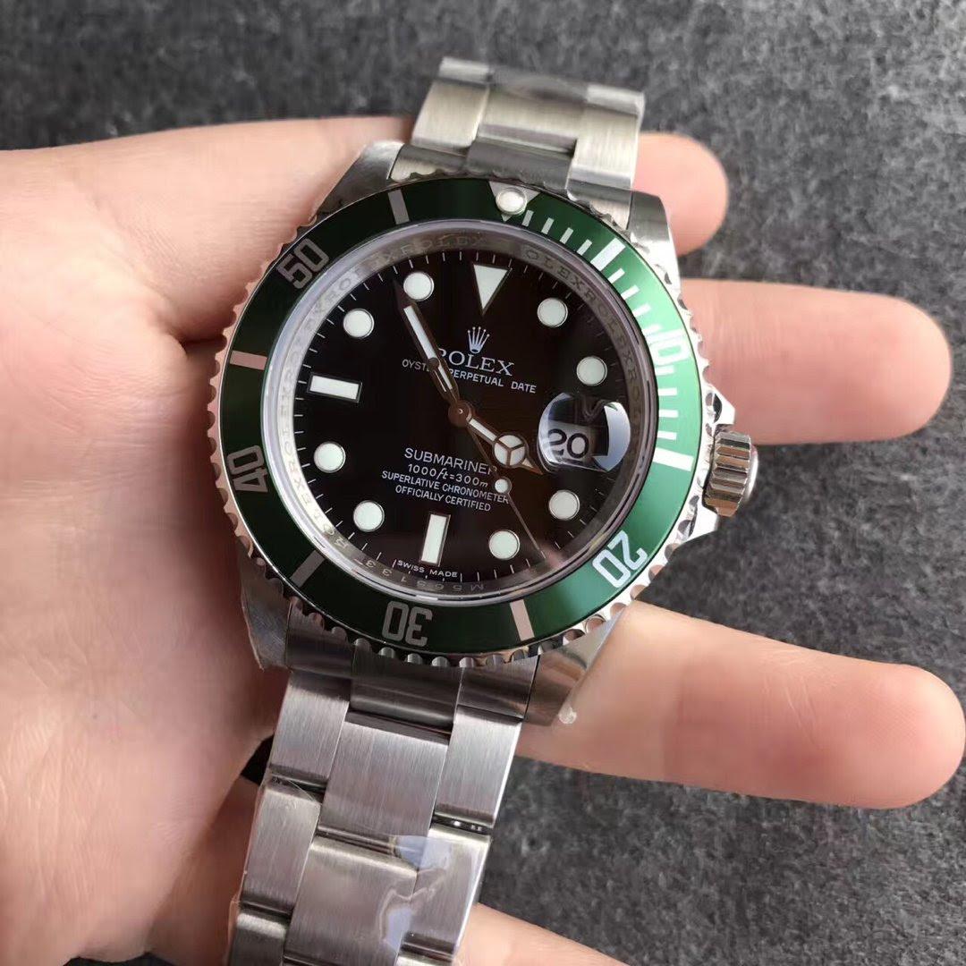 Replica Rolex Submariner 16610LV Green Watch