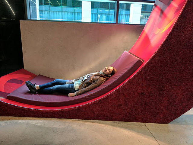 Napping In The Google Logo