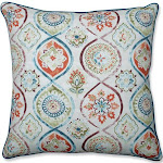 Pillow Perfect Madrid Pottery 25-inch Floor Pillow