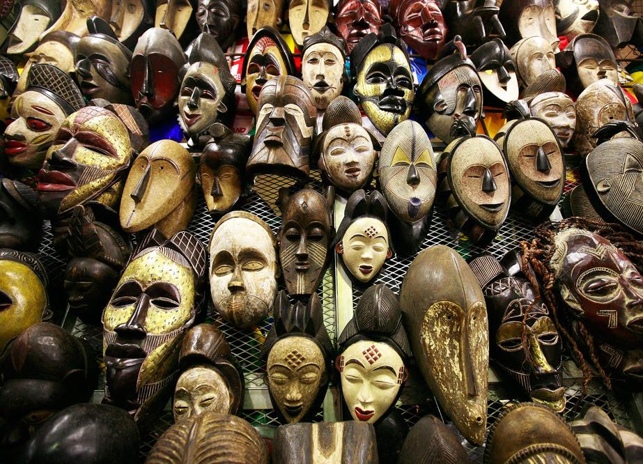 Mascaras-africanas