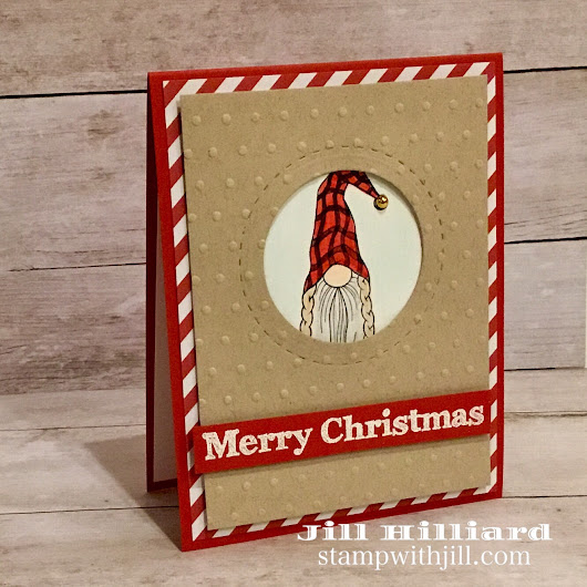 Gnome for the Holidays: A Fun Stampers Journey Creative Team Blog Hop - Jill's Card Creations