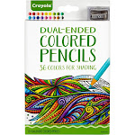 Crayola Dual - Ended Colored Pencils for Shading