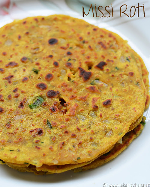 Missi roti recipe easy indian dinner recipes raks kitchen dinner recipe and easy too missi roti forumfinder Choice Image