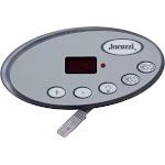 Topside, Jacuzzi J-300 LED Series, 5 Button, P1, P2, LT 2600-322