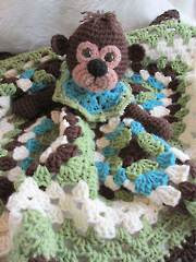 Monkey Huggy Blanket - Electronic Download