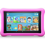"""All-New Fire HD 8 Kids Edition Alexa Tablet, 8"""" HD Display, 32 GB, 10 Hours Battery, Pink Kid-Proof Case"""