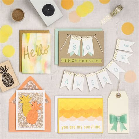 Creative Card Making: Sunny Greetings   Paper Source Blog