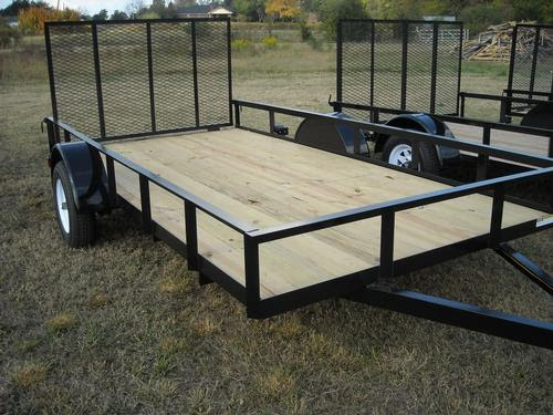 Single Axle Utility Trailer Economy
