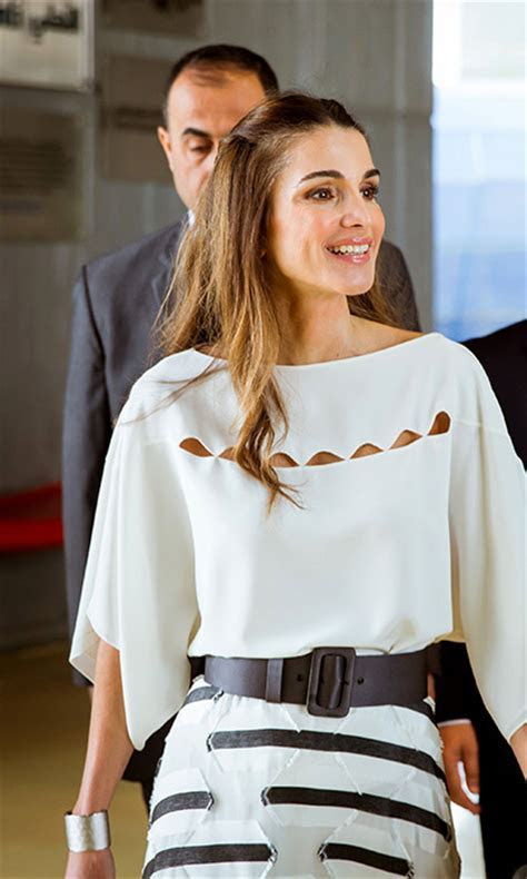 The week's best royal style: Queen Rania, Princess