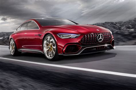 Mercedes AMG GT Concept: a cross town rival to the Porsche Panamera by CAR Magazine