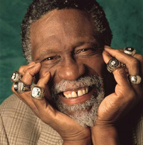 Bill Russell in Finals-Clinching Games