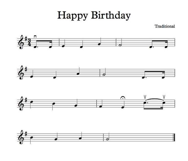 Satisfied Birthday Letter Notes For Clarinet Galatics