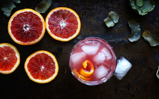 Blood Orange Cocktail - Daily Appetite