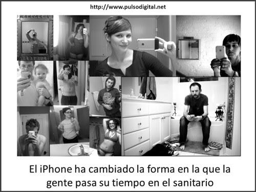 Iphone en el baño
