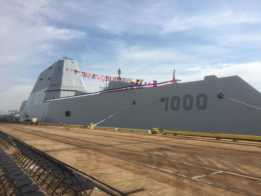 I Just Toured the U.S. Navy's Most Advanced Stealth Warship Ever | The National Interest Blog