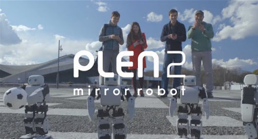 The PLEN2: first ever printable humanoid