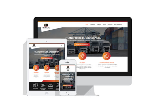 Website - RedRoad Transportes | NOBLE STRATEGY