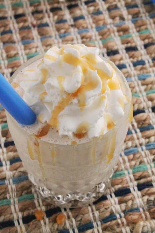 """Great Butterscotch!"" Boozy Milkshakes 
