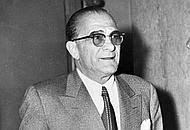 Il padrino del clan newyorkese Vito Genovese