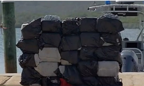 PUERTO RICO: Incautan 37 paquetes de cocaína procedente de R. Dominicana