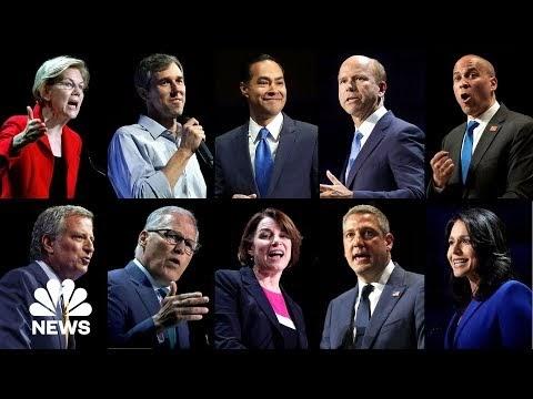 לצפייה חוזרת: ערב 1 של העימות הדמוקרטי הראשון בבחירות 2020