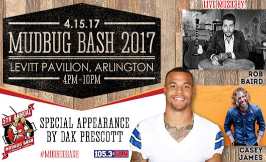 Mudbug Bash 2017 at Levitt Pavilion